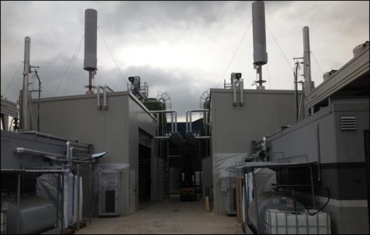 Impianto di pirogassificazione e cogenerazione a pellet
