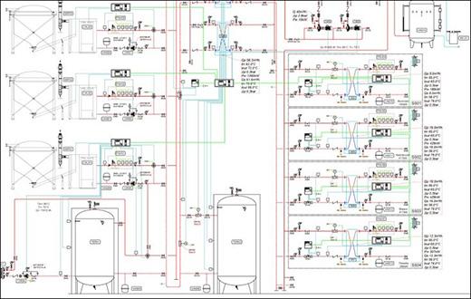Progetto centrale termica a biomassa con teleriscaldamento