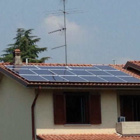 Impianto Fotovoltaico e Condizionamento Pedrengo